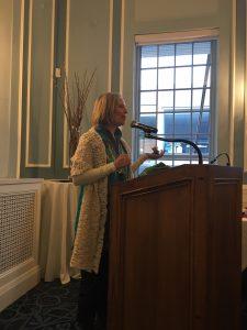 Guest Speaker Michelle Tocher, Author-Storyteller, shares her story of healing through art making.