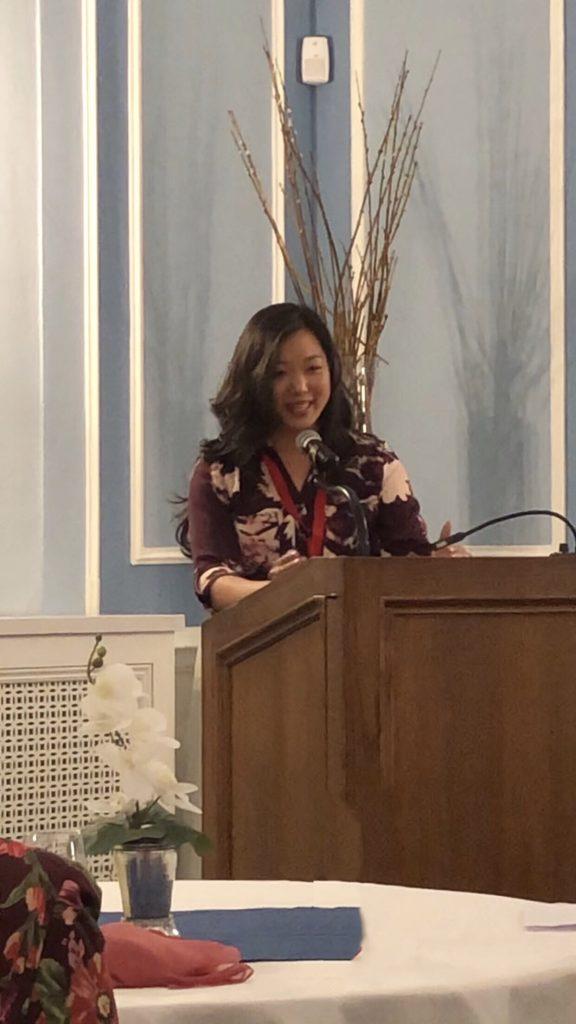 Winner of the Martin A. Fischer Best Thesis Award, Christina Lee, DTATI